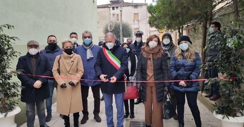 A Montecorvino Rovella taglio del nastro dell'ala riqualificata della scuola Maria Pia di Savoia
