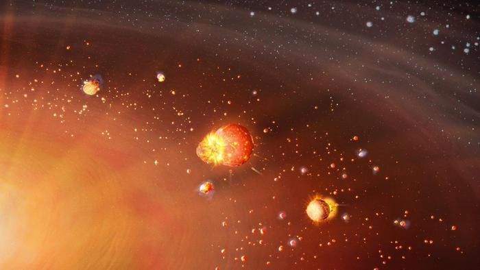 Il Sistema Solare si è formato in due tappe
