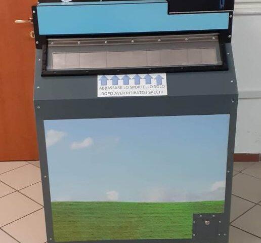 Distributori automatici di kit per la differenziata a Nocera Inferiore, il servizio diventa smart