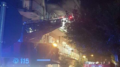 Paura a San Marzano sul Sarno: a fuoco appartamento, salvo il titolare. Muoiono due cani