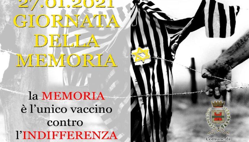 DOMANI GIORNATA DELLA MEMORIA, ROCCAPIEMONTE NON DIMENTICA