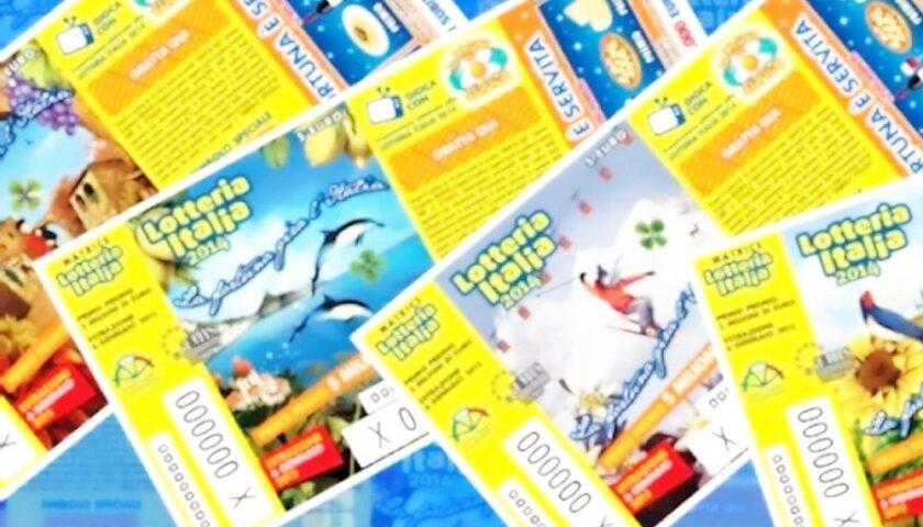 Lotteria Italia senza botto nel Salernitano: vinti 5 biglietti da 25mila euro, ecco dove