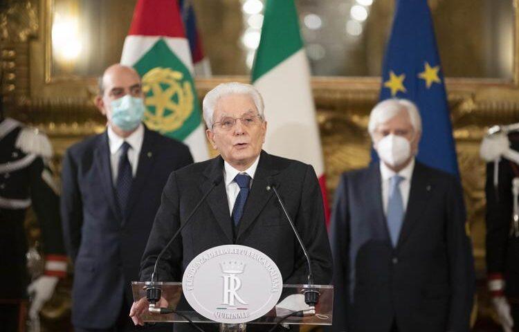 Crisi governo, Mattarella convoca il presidente della Camera Fico
