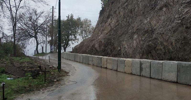 Cava de' Tirreni, riaperta la strada Petrellosa dopo la frana del 6 gennaio