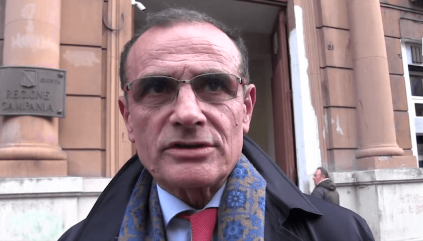 """Picarone: """"In Campania è allarme fornitura vaccini"""""""