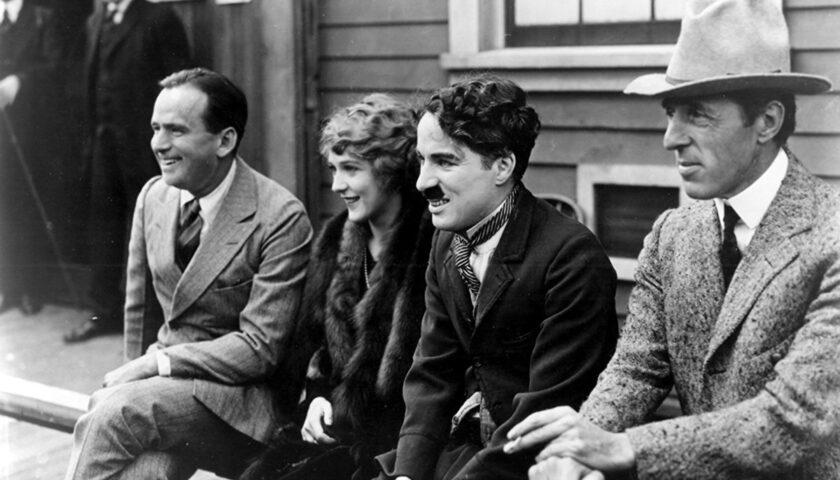 Il 5 febbraio di 102 anni fa nasce la United Artist, tra i fondatori Charlie Chaplin