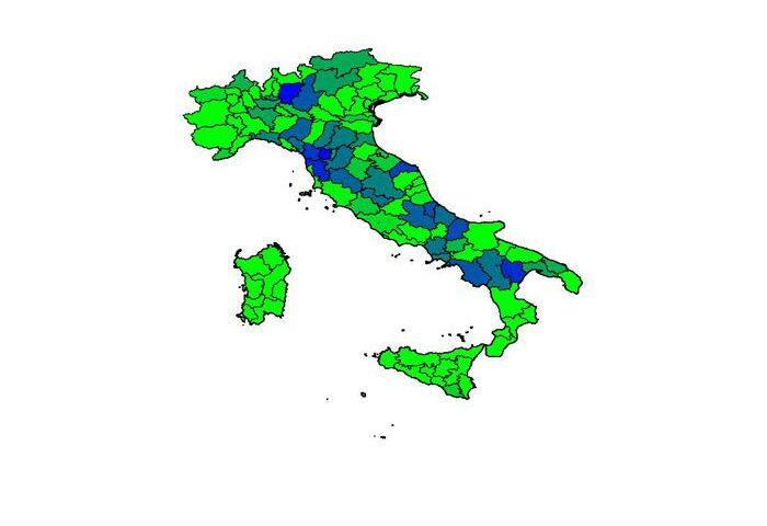 Covid, la mappa dei contagi nelle regioni. Salerno cresce del 20% in Campania