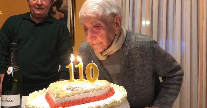 Festa a Moio della Civitella, nonna Rosa compie 110 anni