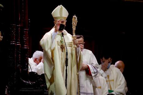 Il nuovo vescovo di Napoli Battaglia positivo al covid
