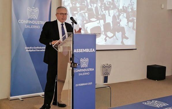Ferraioli presidente Confindustria Salerno, squadra confermata