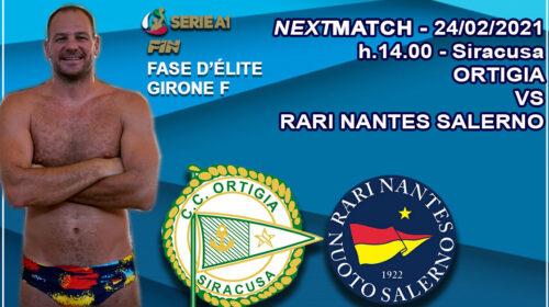 Rari Nantes Salerno, la fase d'élite inizia a Siracusa