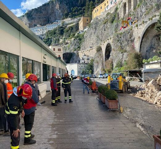 "M5S, Cammarano: ""Frana in Costiera Amalfitana, ritardi su interventi di messa in sicurezza già finanziati"""
