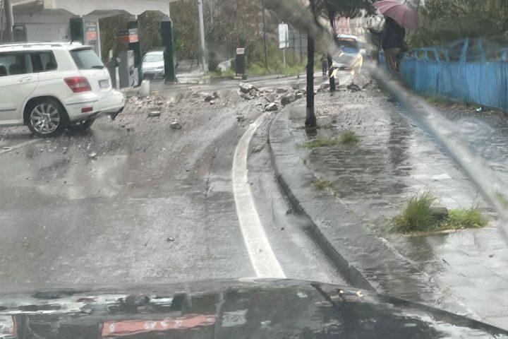 """Frana tra Vietri e Salerno, la Cgil scrive al Prefetto: """"E' urgente un tavolo sulla sicurezza e bisogna mappare il territorio"""""""