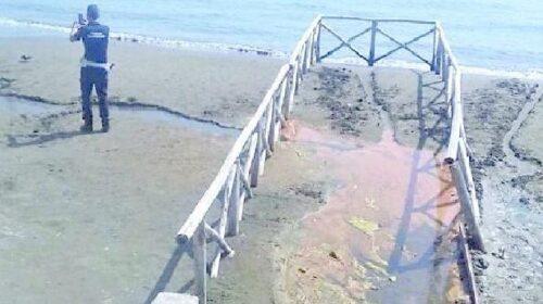 Salerno, acqua rossa a Santa Teresa: arrivano gli ispettori del Ministero all'Ambiente