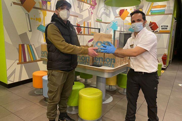 Nocera Superiore, McDonald's e Fondazione Ronald McDonald doneranno 200 pasti caldi a settimana fino a fine marzo