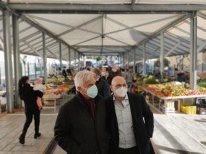 Salerno, inaugurato questa mattina il mercato coperto di via Piave