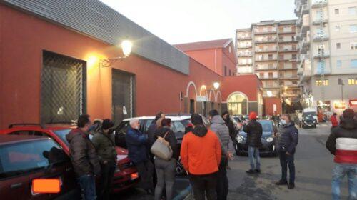 I mercatali occupano in segno di protesta numerose aree della Campania