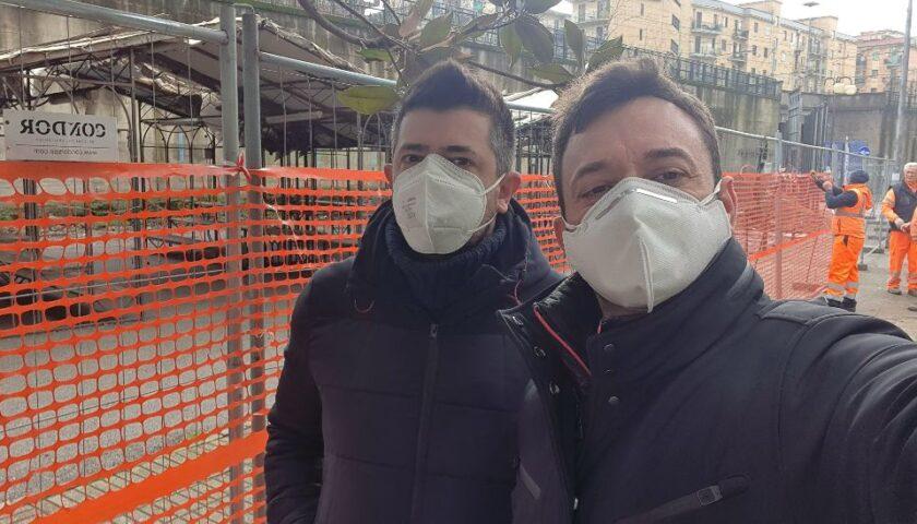 """Salerno, riqualificazione in via Vinciprova. Il consigliere Polverino: """"Recepisco le esigenze del quartiere"""""""