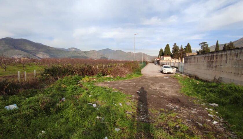 Roccapiemonte, discarica di rifiuti solidi urbani ma anche pericolosi segnalata alle Sentinelle dei Bacini