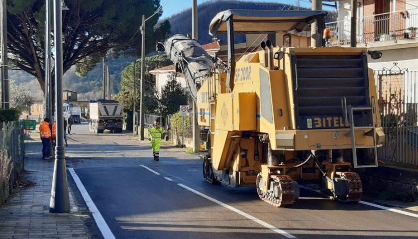 A Bracigliano arriva la consegna lavori sulla SP 7