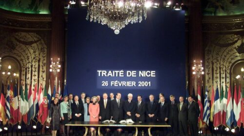 Europa, il 26 febbraio 2001 il Trattato di Nizza modifica Maastricht e Roma