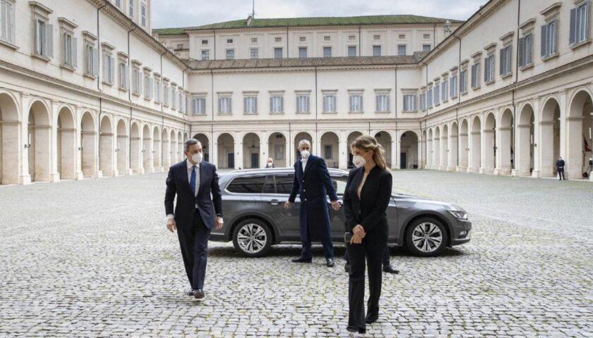 """Governo, Draghi è salito al Quirinale. I 5 Stelle: """"Non lo voteremo"""""""
