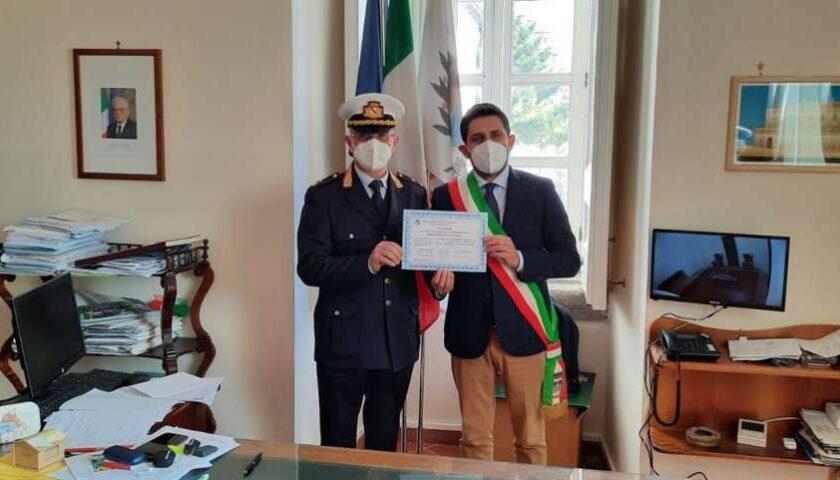 Salvarono anziano in casa a Mercato San Severino, encomio del sindaco