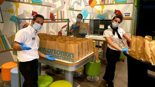 Iniziativa di solidarietà a Nocera Superiore. McDonald's e Fondazione Ronald McDonald doneranno pasti caldi.