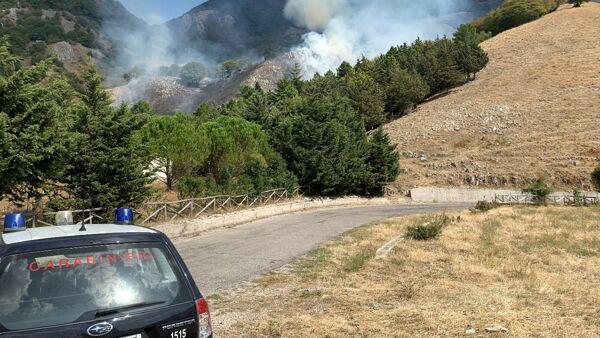 Incendio a Castelnuovo di Conza, arrestato il piromane