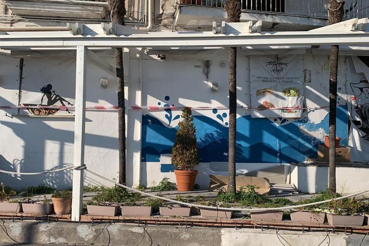 Ad Amalfi sotto sequestro un bar