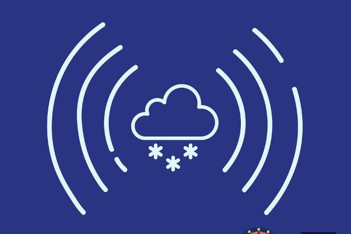 Allerta neve anche a bassa quota su tutta la Campania   Venti forti con raffichesull'intero territorioe mare agitato