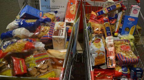 Emergenza povertà ai tempi del Covid-19: la raccolta alimentare continua in ogni week-end fino a Pasqua