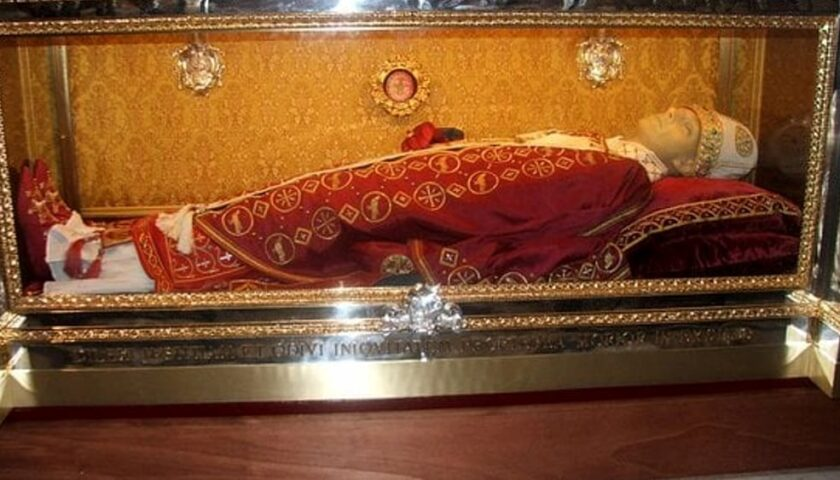 Urna delle relique di San Gregorio VII il 24 febbraio rientrerà nell'Arcidiocesi Salerno/Campagna/Acerno