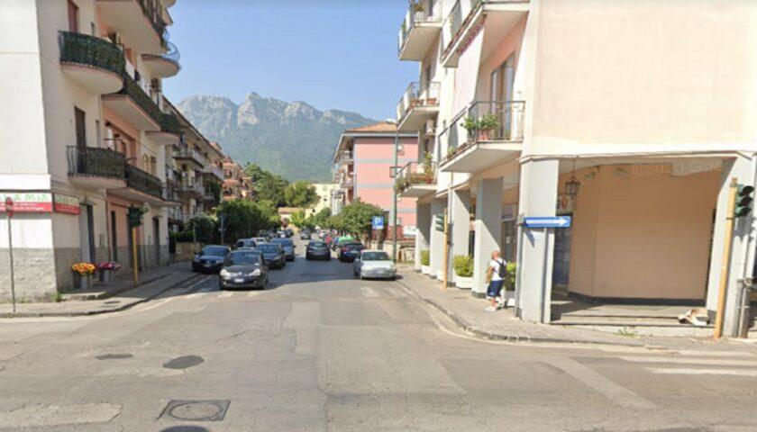 CAVA DE' TIRRENI, RESTYLING DI VIA DEGLI ACERI