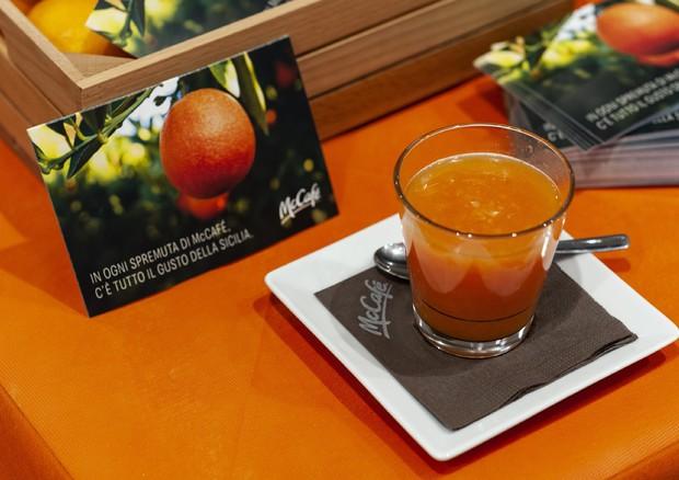 Arancia Rossa Sicilia Igp a MacDonald's in 270 mila spremute