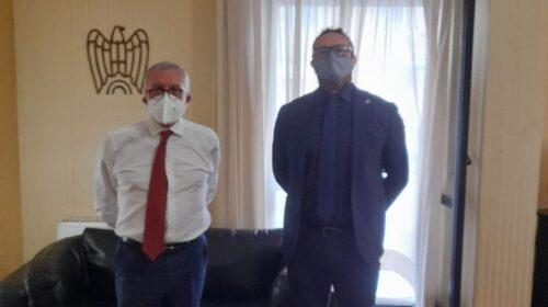 Confesercenti incontra il presidente Ferraioli nuovo leader di Confindustria Salerno