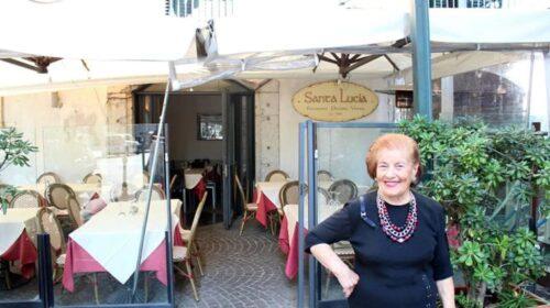 Lutto a Salerno, muore donna Elvira la storica patron del Santa Lucia