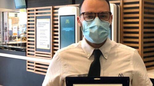 Archways to Opportunity: a Salerno McDonald's premia con una borsa di studio un giovane dipendente