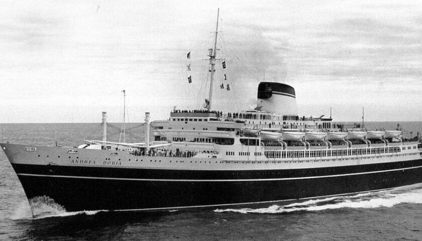 Il 30 marzo 1913 varata a La Spezia la Regia nave Andrea Doria