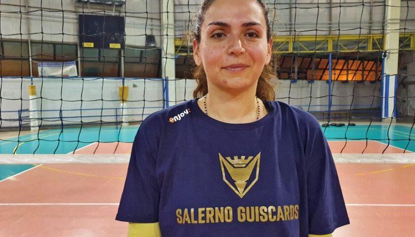 Polisportiva Salerno Guiscards, l'esperienza di Elisa Di Nicuolo al servizio del team volley