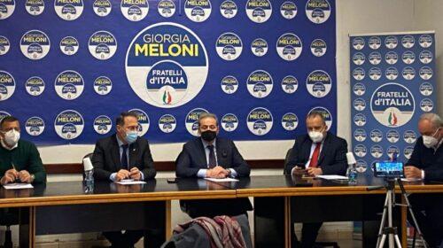 """Fratelli d'Italia: """"Il Civico Sarno è il nostro candidato a sindaco di Salerno"""""""