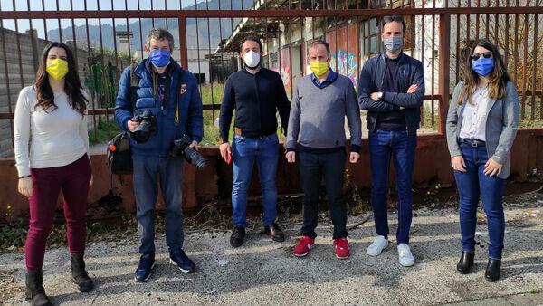Terza e quarta tappa Dritti al Punto. Tour nella Salerno abbandonata: dal degrado all'Inquinamento atmosferico