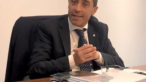 """Commercialisti Salerno, il presidente Giordano: """"Il decreto sostegni è briciola nel deserto"""""""