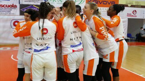 Una spenta O.ME.P.S BricUp Battipaglia viene travolta dall'USE Basket Rosa Empoli
