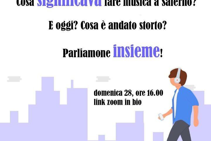 Forum dei Giovani Salerno: un'assemblea online sulla musica per analizzare le problematiche che esistono per il settore