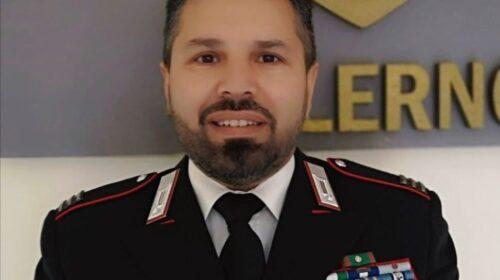 Maltempo nuovo comandante della sezione Norm dei carabinieri di Salerno