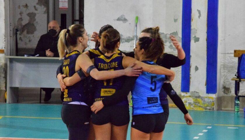 Polisportiva Salerno Guiscards, il team volley va a caccia del poker in casa di Montoro