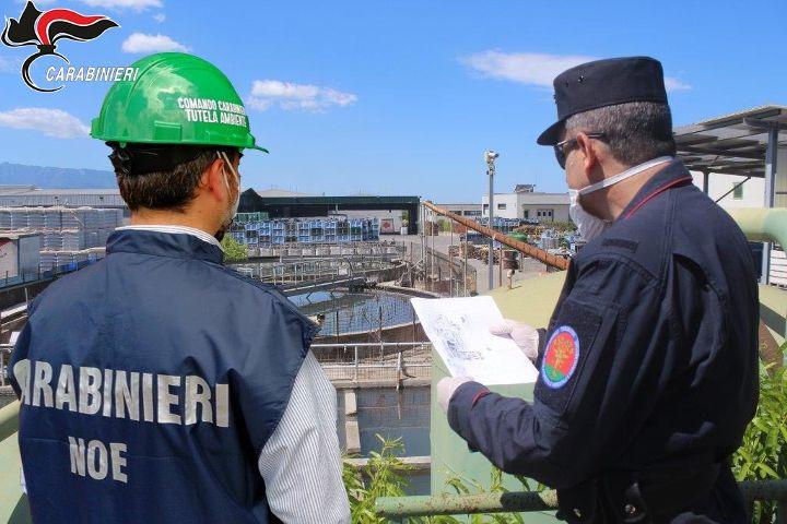 Controllo del fiume Sarno, un anno di attività dei carabinieri del Noe