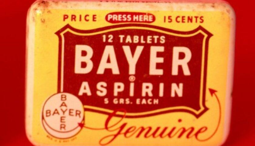 Il 6 marzo del 1899 in Germania viene brevettata l'aspirina