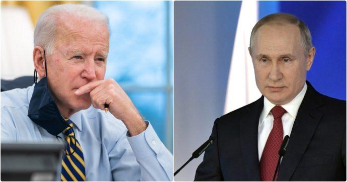 """Usa, Biden: """"Putin è un assassino"""". Mosca: """"E' un attacco alla Russia"""""""
